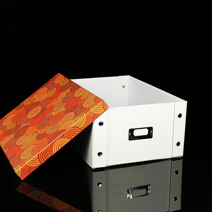 neu aufbewahrungsbox faltbar mit deckel box multibox regal. Black Bedroom Furniture Sets. Home Design Ideas