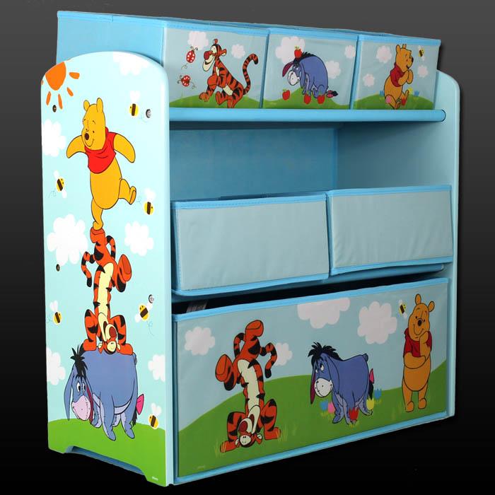 aufbewahrungsbox disney winnie the pooh spielzeugkiste. Black Bedroom Furniture Sets. Home Design Ideas