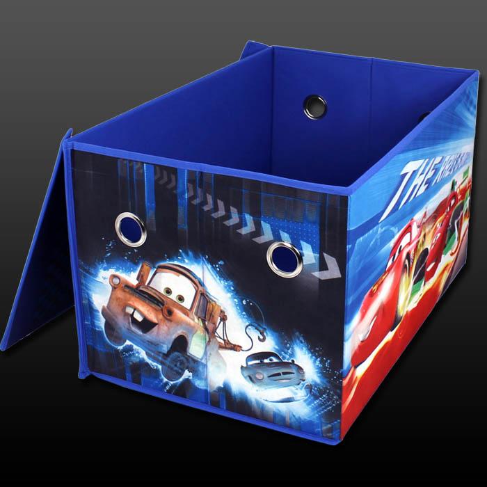 Disney kinder spielzeugtruhe aufbewahrungsbox deckel