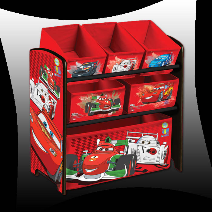 disney cars 2 kinder aufbewahrungsbox spielzeugkiste. Black Bedroom Furniture Sets. Home Design Ideas