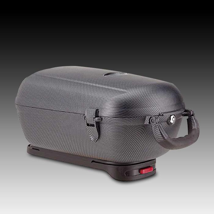 neu carbon fahrradkoffer fahrrad koffer fahrradbox box gep cktr ger gep ckbox ebay. Black Bedroom Furniture Sets. Home Design Ideas