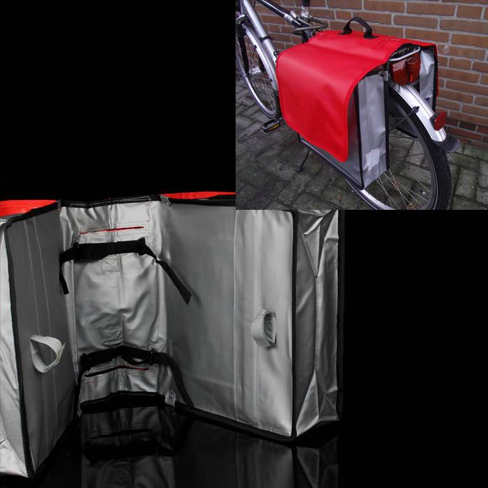 xl fahrrad doppeltasche lkw plane fahrradtasche gep cktr gertasche gep cktasche ebay. Black Bedroom Furniture Sets. Home Design Ideas