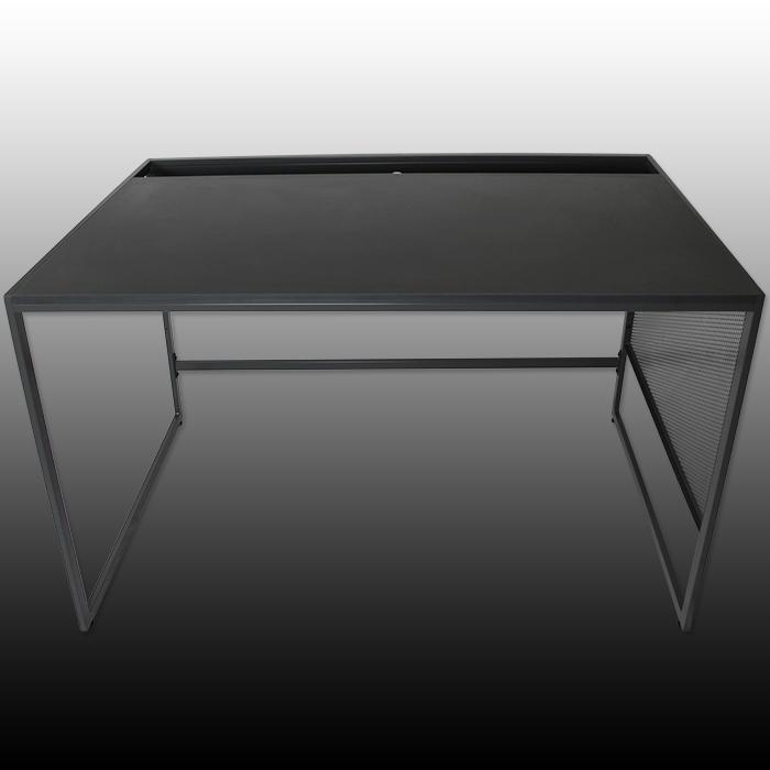 schreibtisch b rotisch computertisch pc b ro tisch arbeitstisch b rom bel metall ebay. Black Bedroom Furniture Sets. Home Design Ideas